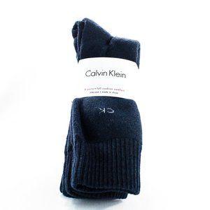Calvin Klein Men's Size 7 - 12 Blue Dress Socks